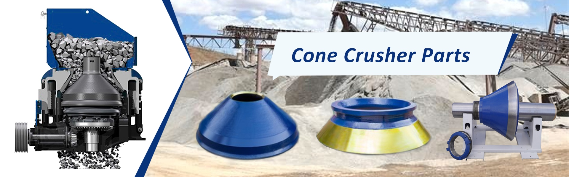 crusher parts,jaw plate,bowl liner,Jinhua Steel Casting And Engineering Parts Co., Ltd.